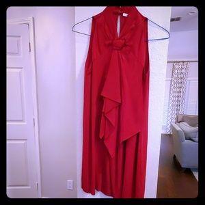 Red Raspberry Diane Von Furstenberg silk dress